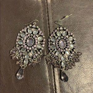 Jewelry - Jeweled Chandelier Earrings